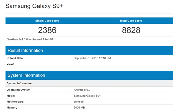 iphone XS MAX beaten the Snapdragon 845