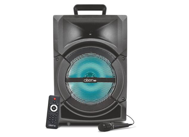 Aisen launches 20.5 cm 'A02UKB600' Trolley Speaker with inbuilt battery