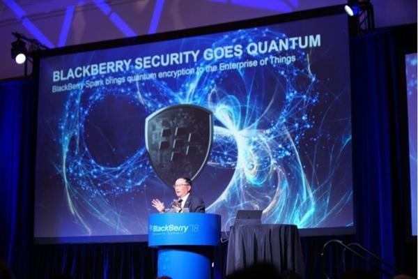 Blackberry quantum-resistant