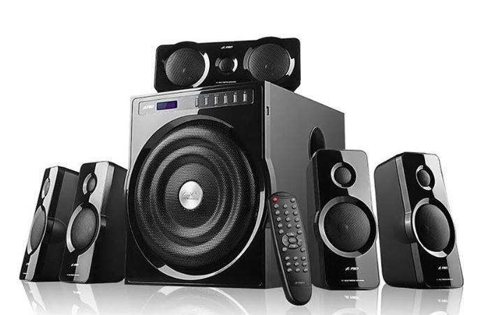 F&D F6000X5.1 surround sound speaker announced at the price ₹14990