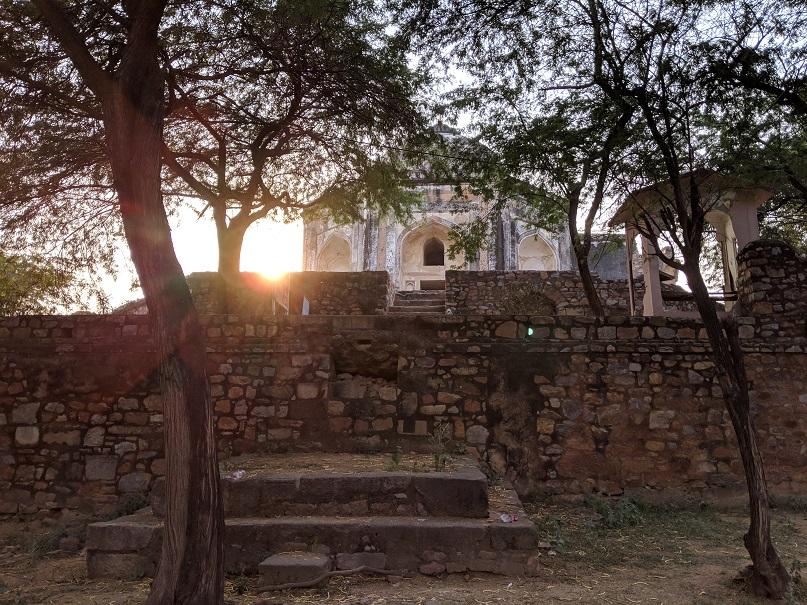 Google camera sun set shot