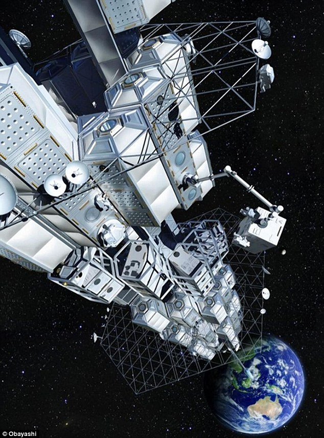 Japanese Space Elevator could take tourists to space by ...
