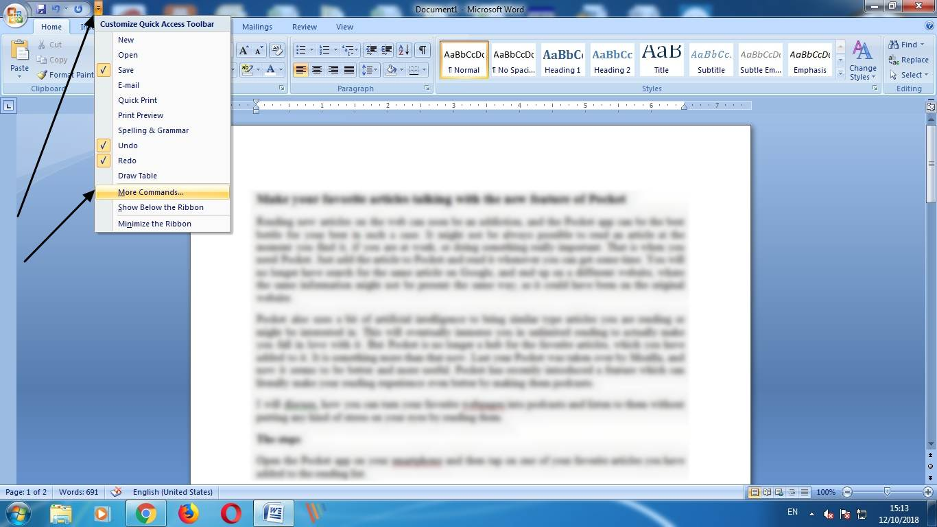 Microsoft Word's hidden feature a document size by one page 1