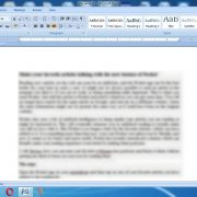 Microsoft Word's hidden feature a document size by one page 4