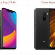 Panasonic Eluga X1 Pro vs Xiaomi Pocophone F1