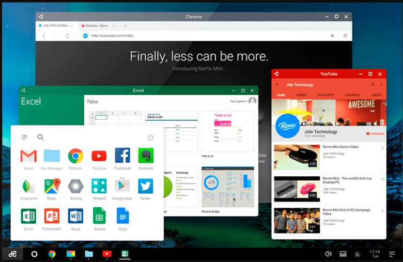 Remix OS Android OS for PC
