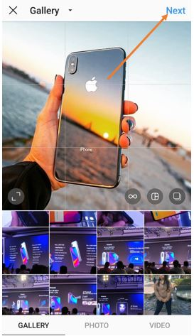background blur in instagram pictures