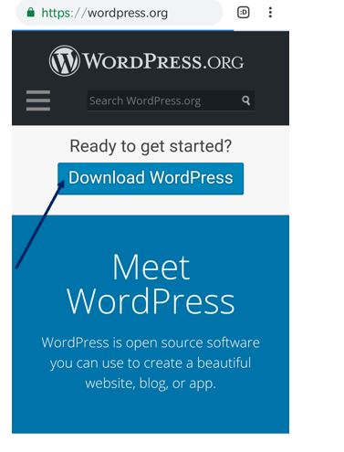 downlaod wordpress