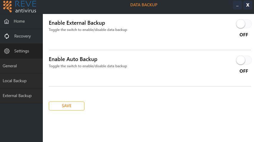 external backup