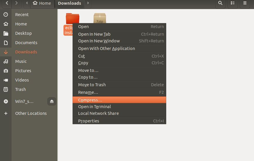 How to install 7zip on Ubuntu Linux using command line | H2S Media