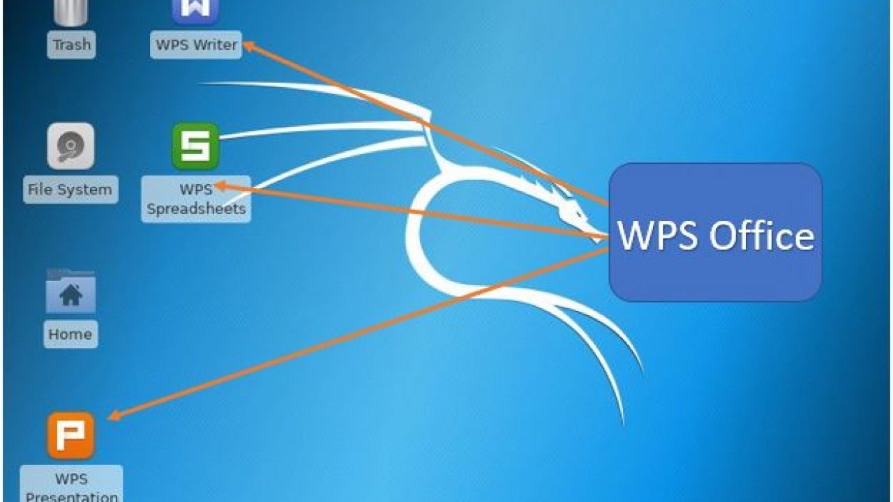 How to install WPS office in Kali linux using command