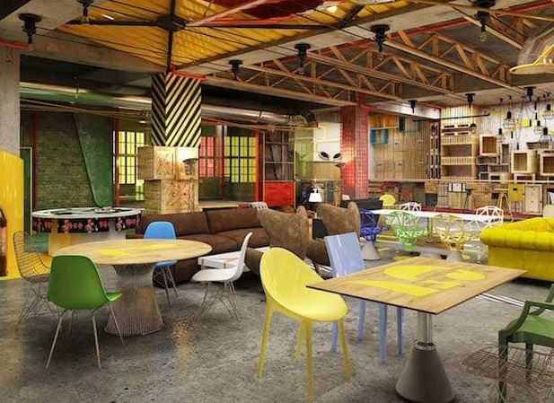 myHQ has come up with an idea to turn hotel & restaurants in to coworking space