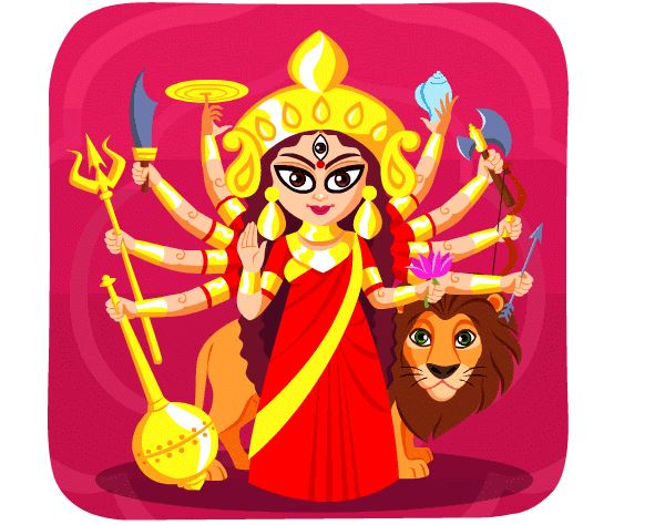 new stickers for Navratri, Durga Puja and Dussehra