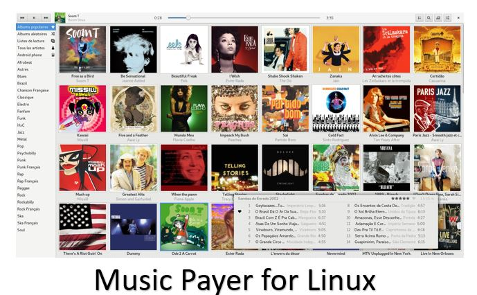 Best free & Open source Linux Mint & Ubuntu music player