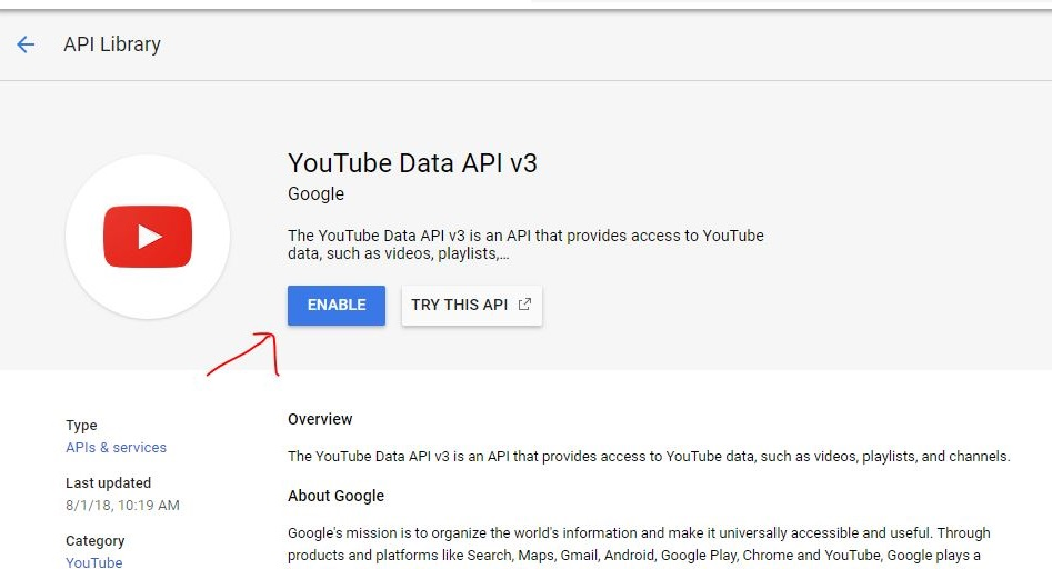 Youtube API tutorial: How to Generate it on Google Console | H2S Media