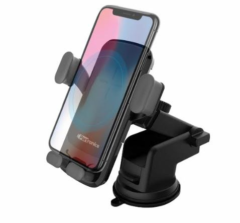 Portronics Launches CHARGE CLAMP Wireless Mobile Charger cum Car Mobile Holder