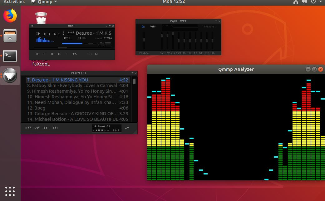 How to download and install music player Qmmp on Ubuntu