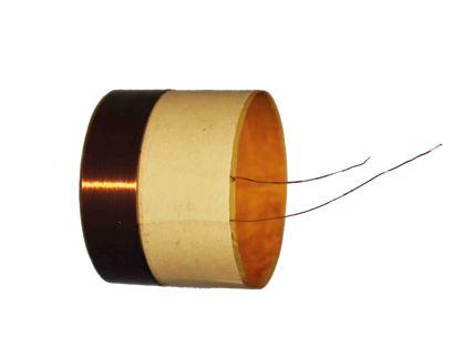 Speaker coil copper