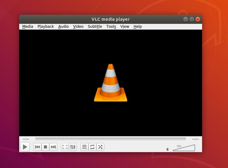 VLC media player as best Ubuntu music player