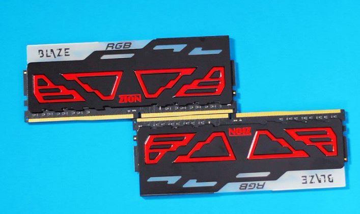 "ZION RAM introduces the all new ""BLAZE RGB"" RAM"