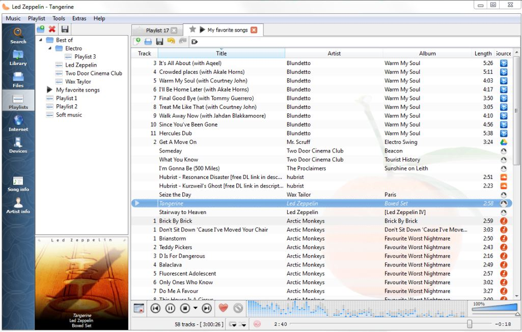 download Clementine Ubuntu music player