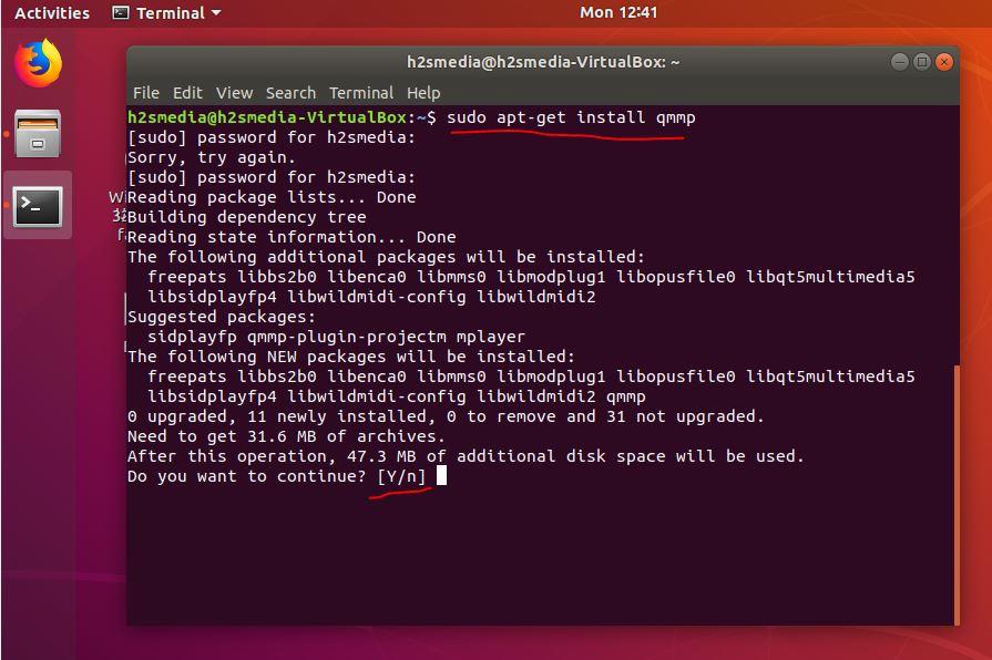 install Qmmp music player on Ubuntu