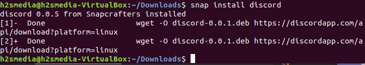 install discord using the snap