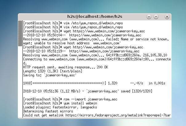 Webmin on Centos: How to install and setup it on Centos, RedHat & Fedora