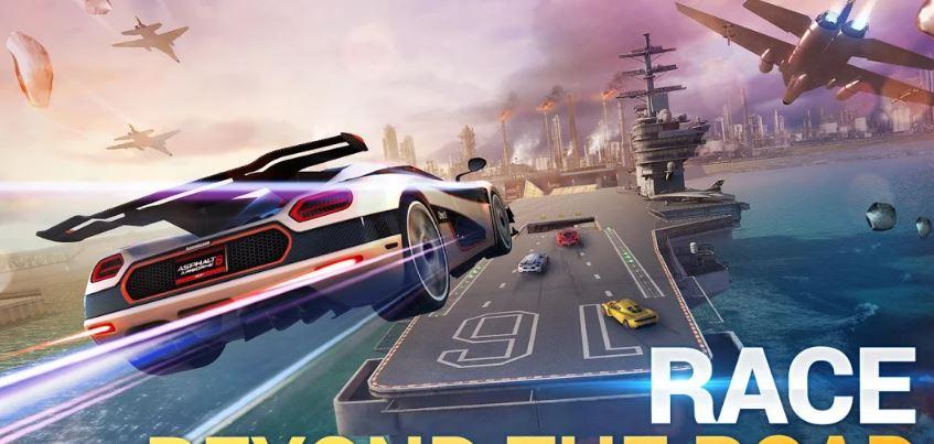Asphalt 8 Airborne game racing