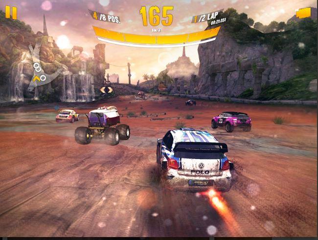 Asphalt Xtreme Rally Racing car game