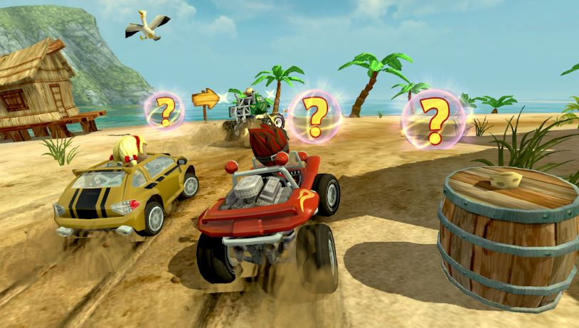 Beach Buggy Racing best car game Android