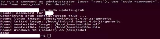 How to fix grub rescue in Windows 10 and Ubuntu dual boot