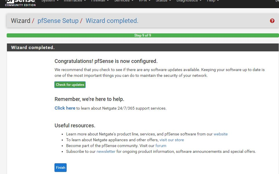 How to install pfSense on Virtualbox or Vmware player