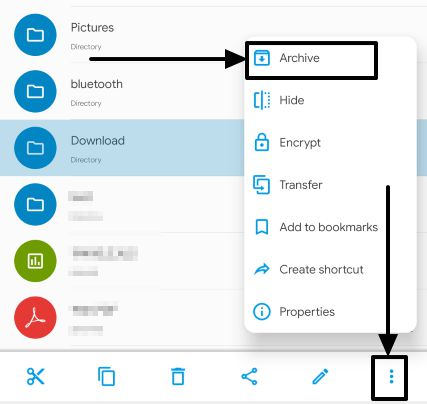 Extract and create archives on Android 5