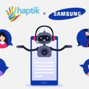 Haptik Assistant augments customer engagement on Samsung's digital entertainment app My Galaxy