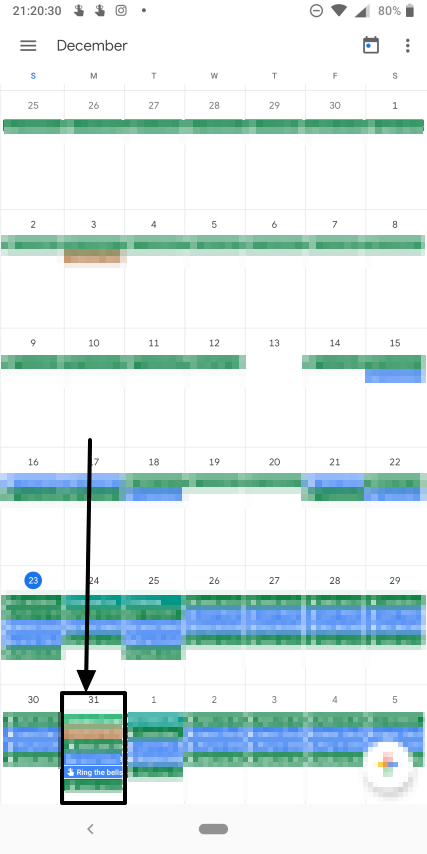 How to set periodic and daily reminders on Google Calendar 4
