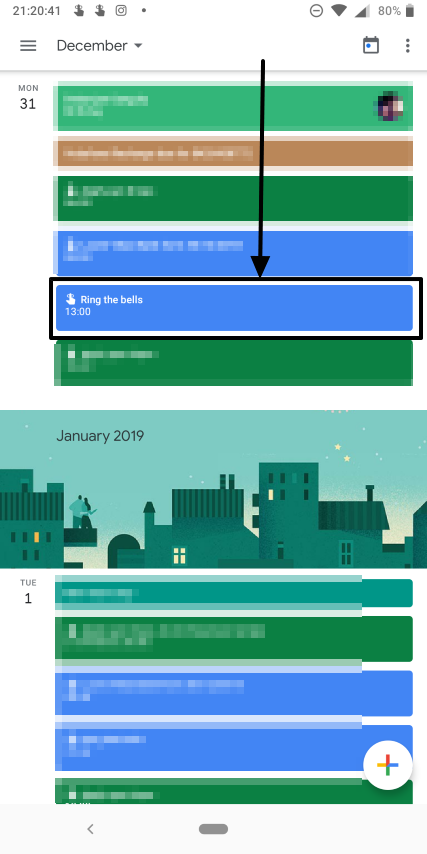 How to set periodic and daily reminders on Google Calendar 5