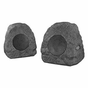 Innovative Technology Premium 5-Watt Bluetooth Outdoor Rock Speakers with AC Adaptor