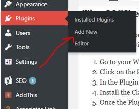 Install Classic editor plugin