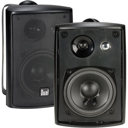 LU43PB High-Performance speakers from Dual Electronics