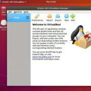 Oracle VirtualBox 6.0 virtual machine