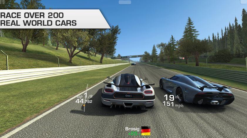 Real Racing 3 best car racing game