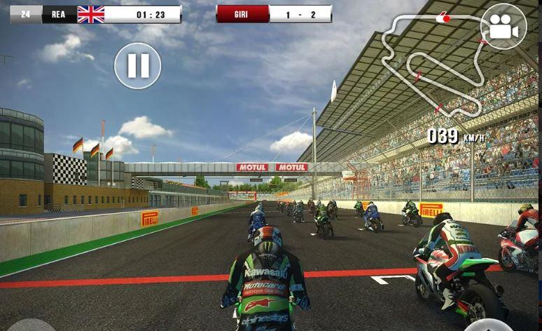 SBK 16 bike racing game