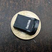 Sandisk Ultra fit USB 3.1 flash drive 32GB Review design