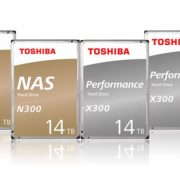 Toshiba introduced N300 and X300 Helium Sealed Hard drives