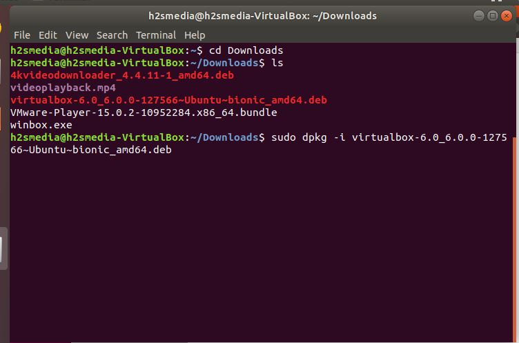 Virtualbox 6.0 – How to install-Upgrade on Linux-Ubuntu