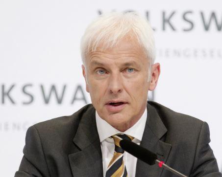 VolkswagenCEOMatthias Müller