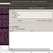 Winbox on Ubutnu installed successfully
