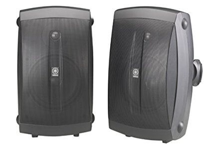 Yamaha – Natural Sound 5 2-Way All-Weather Outdoor Speakers (Pair)