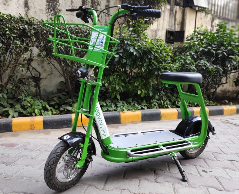 Zypp e-scooters